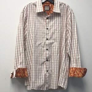 Other - lined long sleeve button up shirt